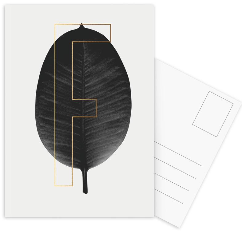 Alphabet & Letters, Leaves & Plants, Plants F Postcard Set