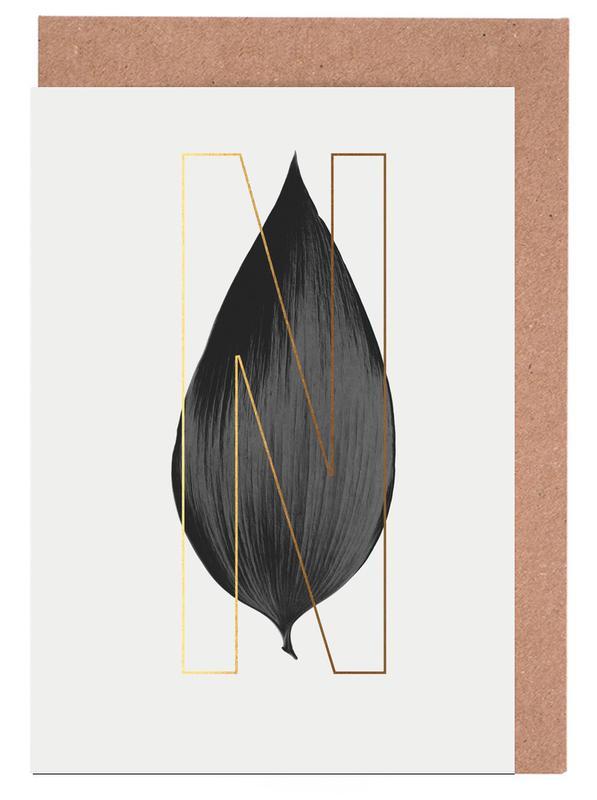 Plants N cartes de vœux