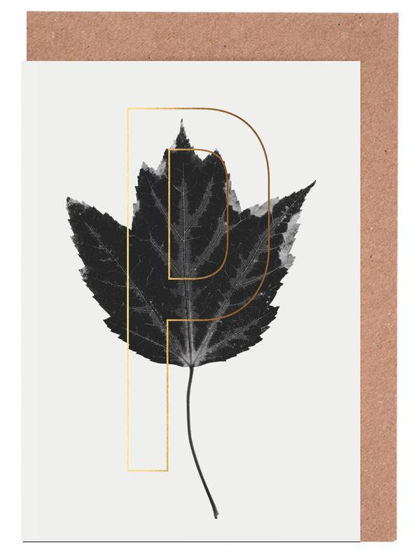 Plants P -Grußkarten-Set