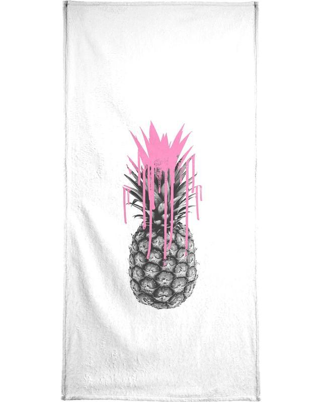 Pink Ananas serviette de bain