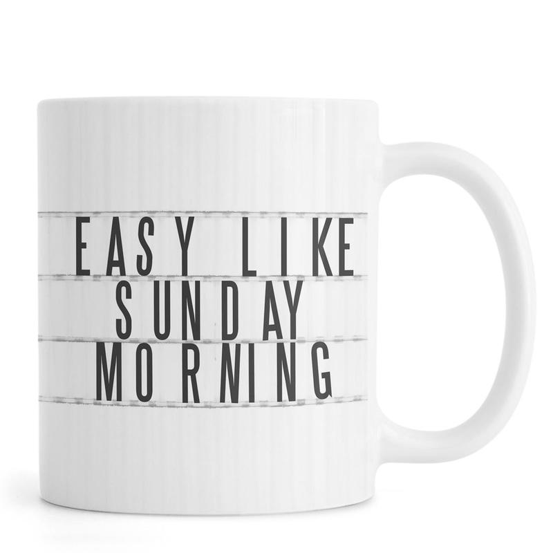 Sunday Morning mug