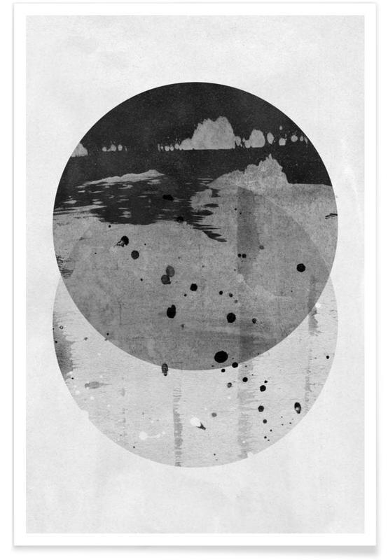 Black & White, GEOMETRY 3 Poster