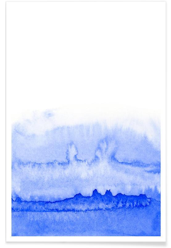, Azul affiche