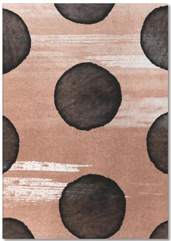 Patterns, Rose Gold #2 Notepad