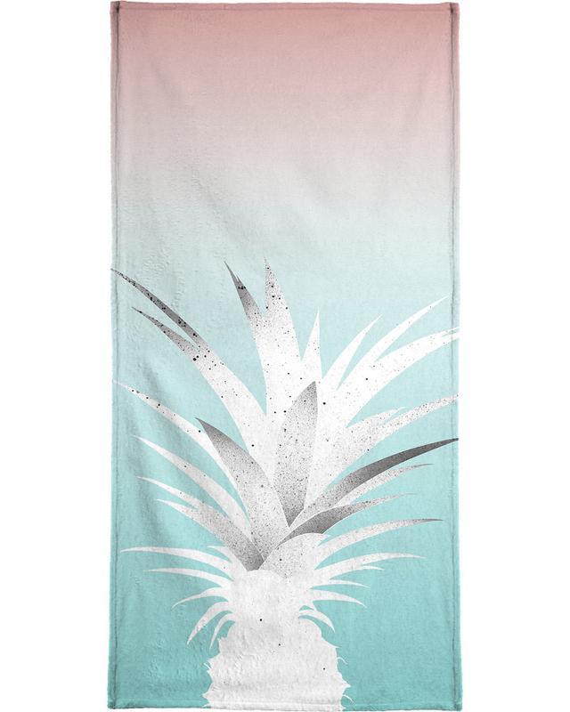 Ananas Comosus Beach Towel