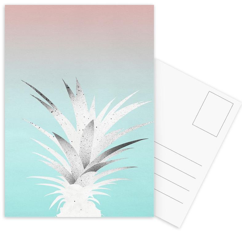 Pineapples, Ananas Comosus Postcard Set