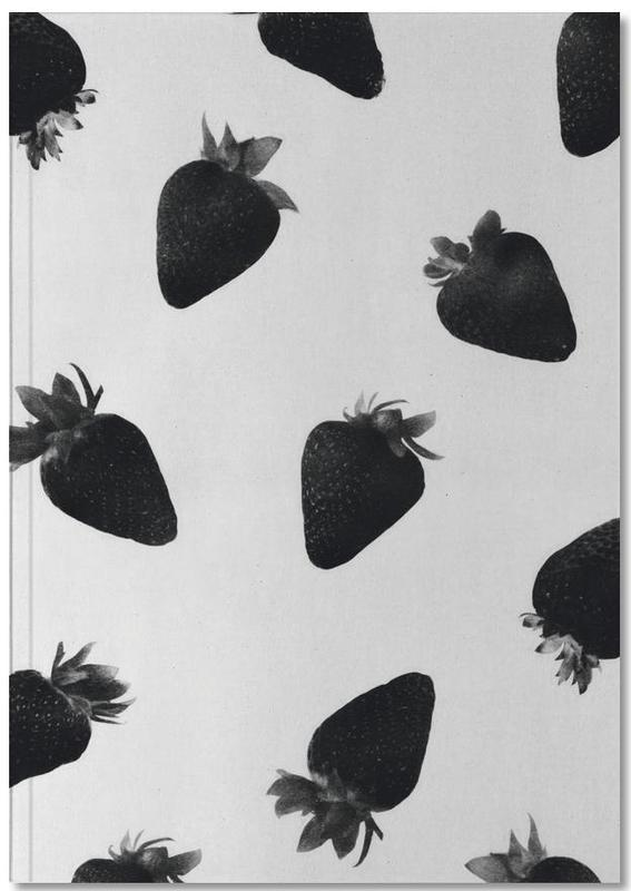 Black Strawberries Notebook