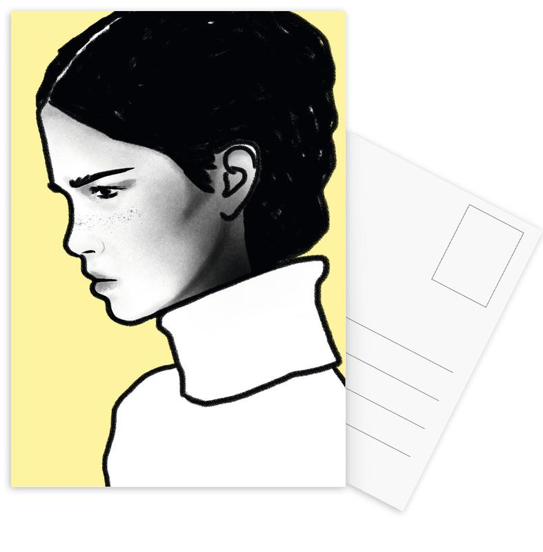 Portretten, G I R L S 02 ansichtkaartenset