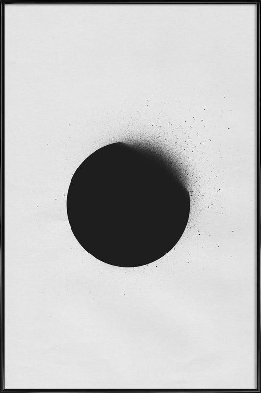 Black 01 affiche encadrée