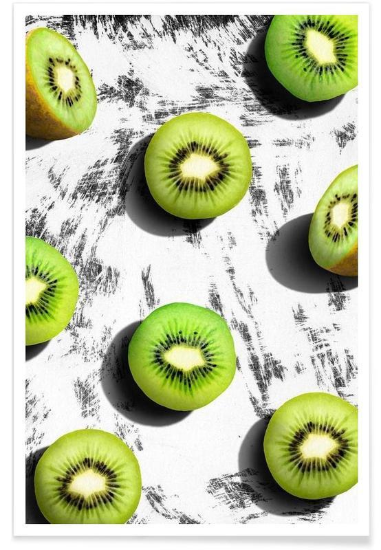 Kiwis, Fruit 3 Poster
