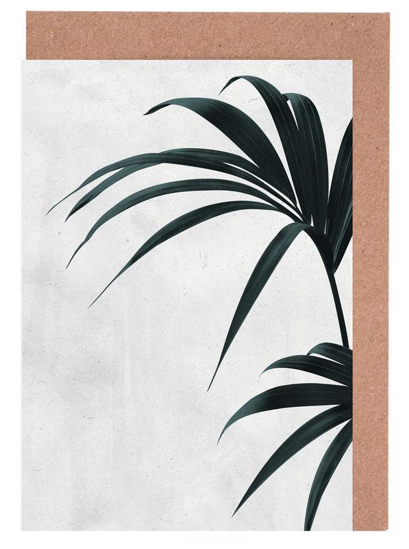 Blätter & Pflanzen, Palmen, Humble -Grußkarten-Set
