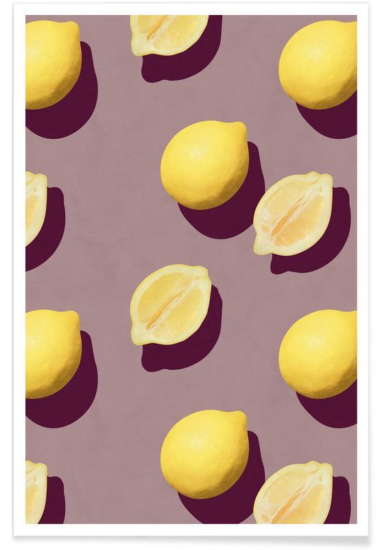 Zitronen, Fruit 19 -Poster