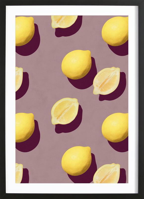 Fruit 19 ingelijste print