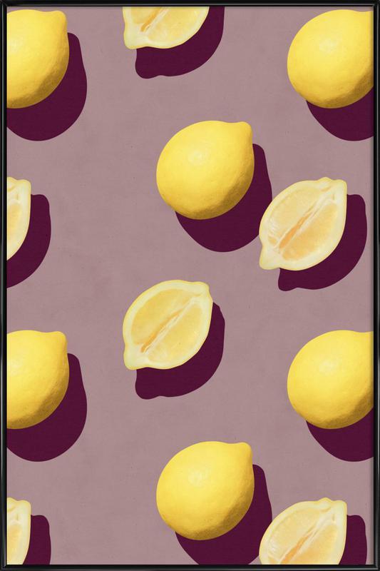 Fruit 19 -Bild mit Kunststoffrahmen