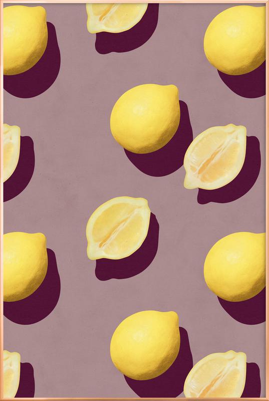 Fruit 19 -Poster im Alurahmen