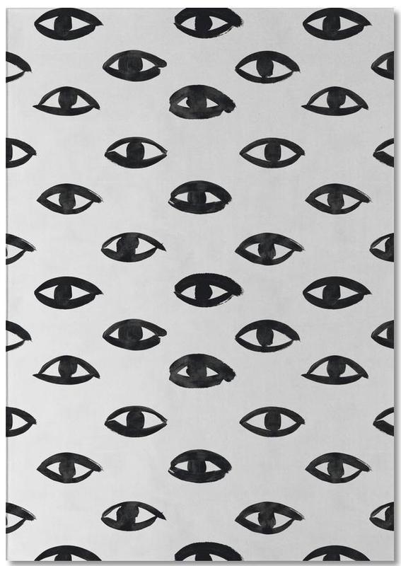 Détails corporels, Noir & blanc, Motifs, I See U bloc-notes