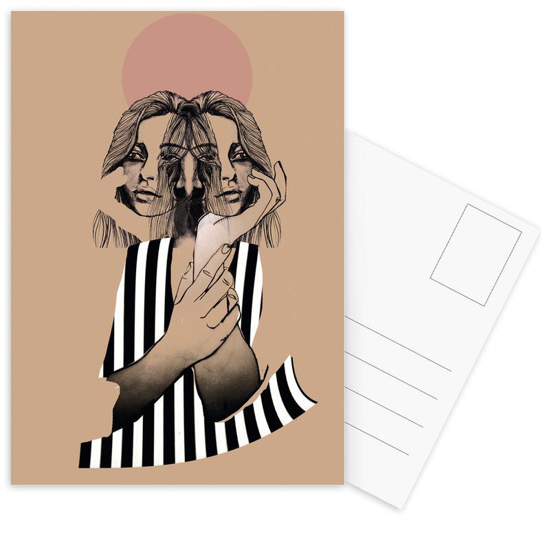 Stripes 1 Postcard Set