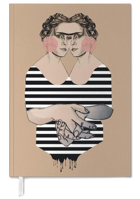 Illustrations de mode, Stripes 2 agenda