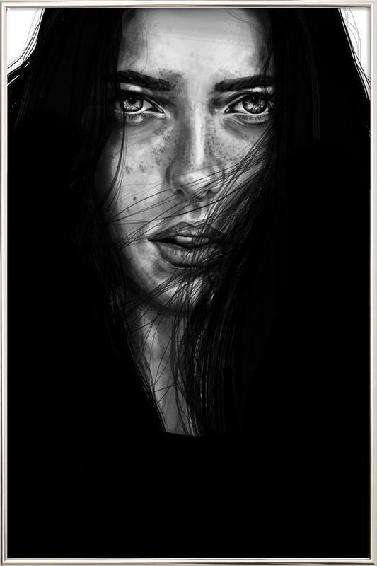 Dark Mary Poster in Aluminium Frame