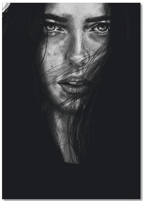 Schwarz & Weiß, Porträts, Dark Mary -Notizblock