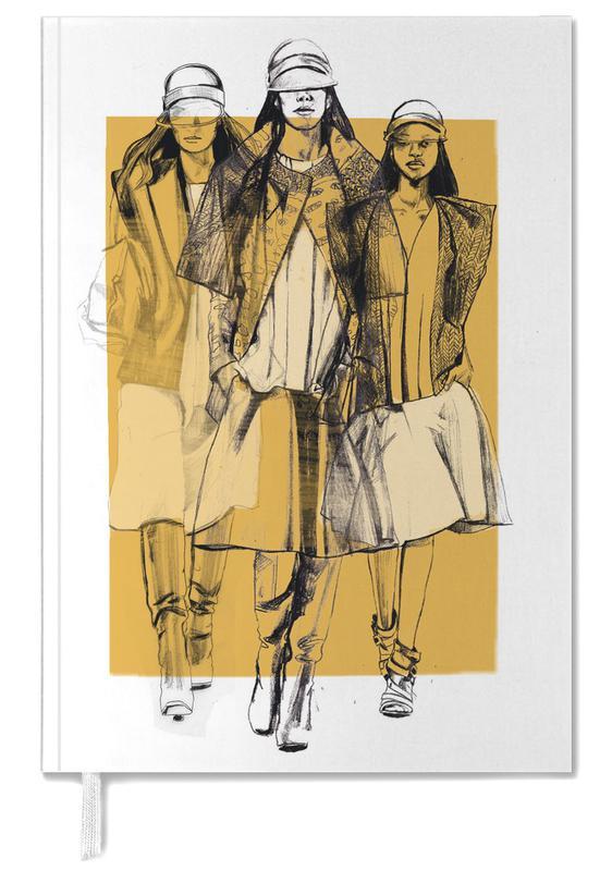 Illustrations de mode, Balenciaga agenda