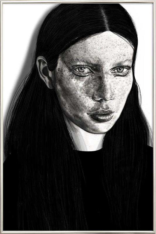 Anna Lisa Poster in Aluminium Frame