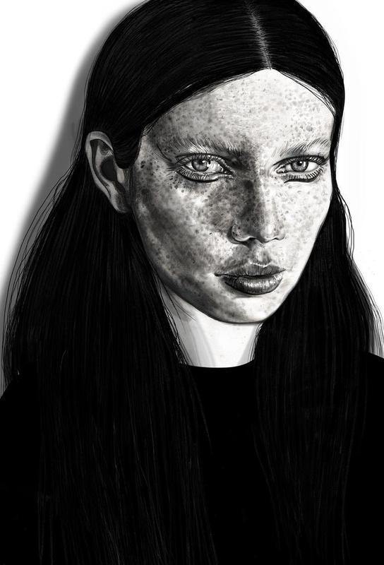 Anna Lisa Acrylic Print
