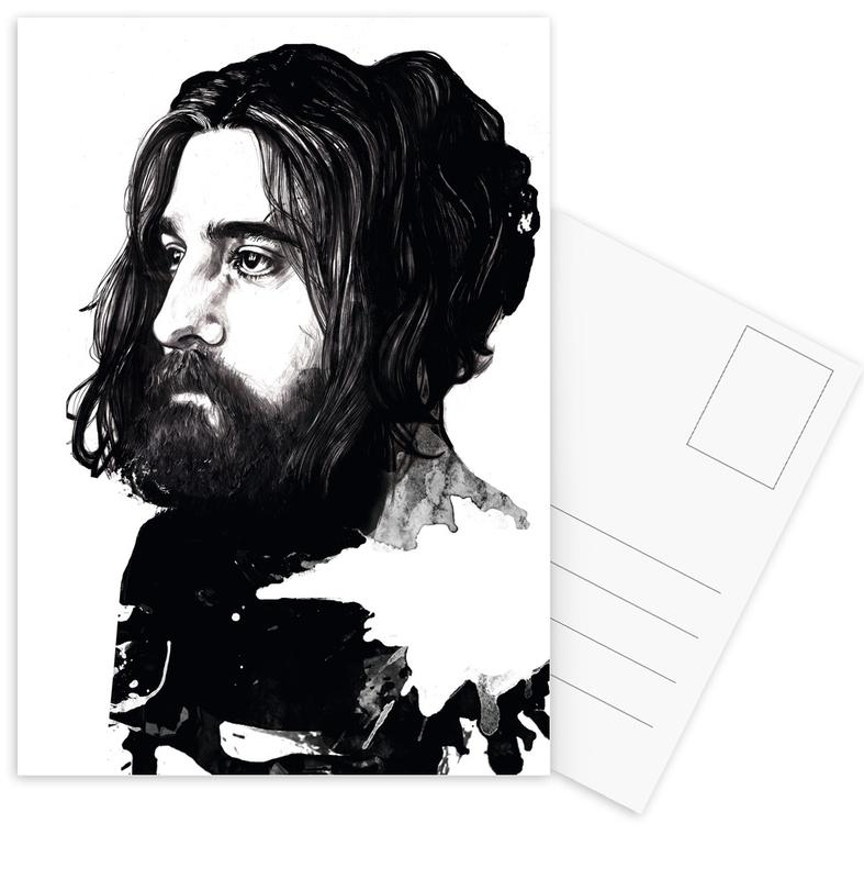 Beard -Postkartenset