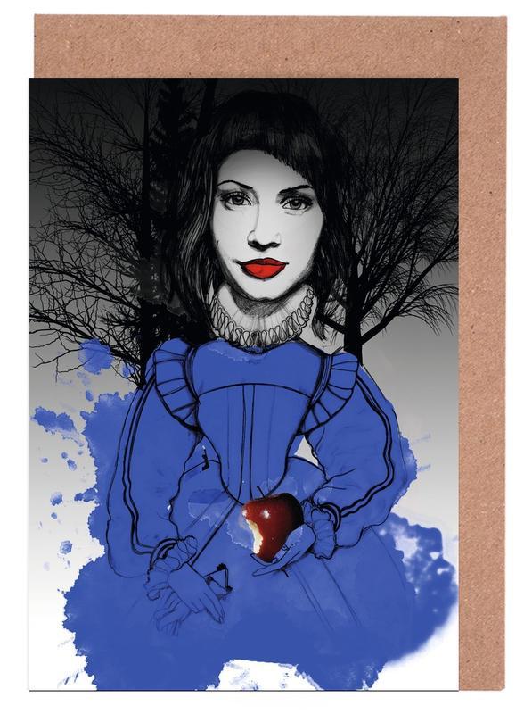 , Fairy Tale Blue cartes de vœux