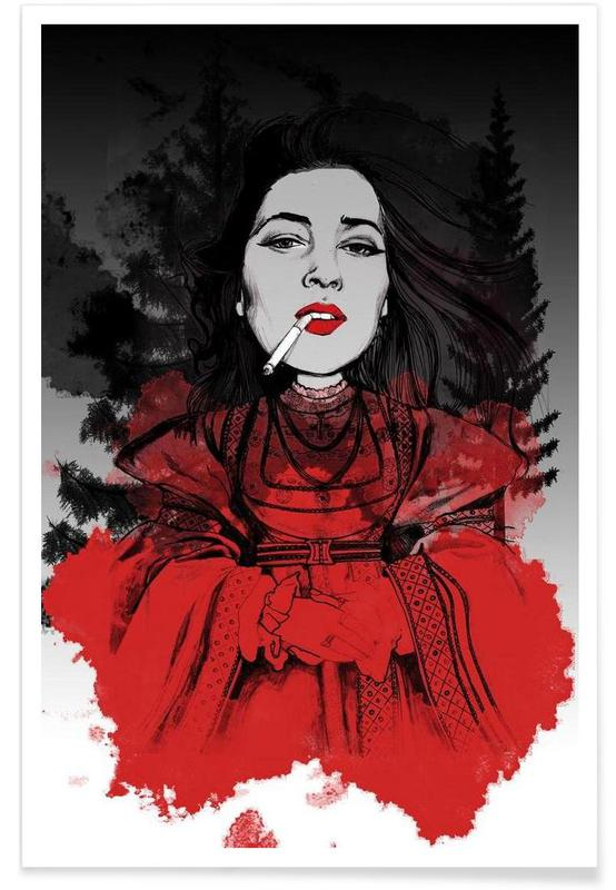 Fairy Tale Red Poster