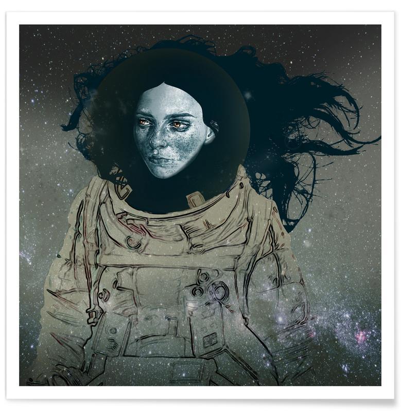 Astronaut 1 Poster
