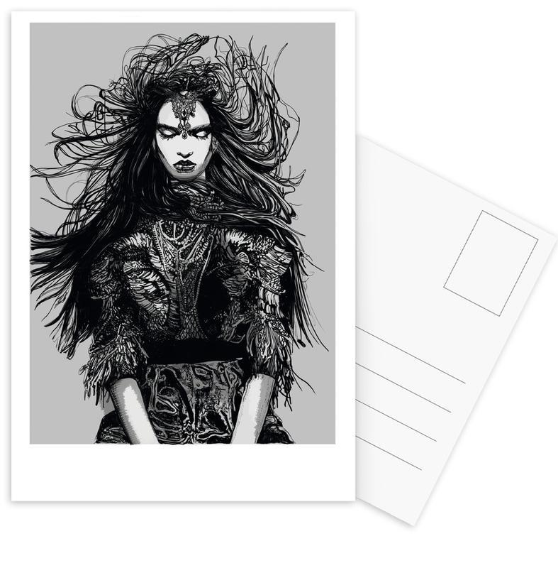 Warrior cartes postales