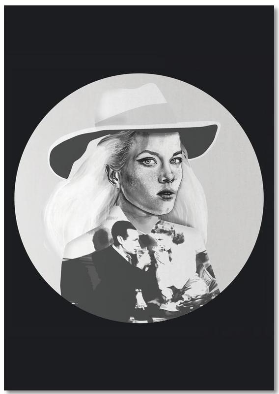 Zwart en wit, Mode-illustratie, Casablanca Notebook