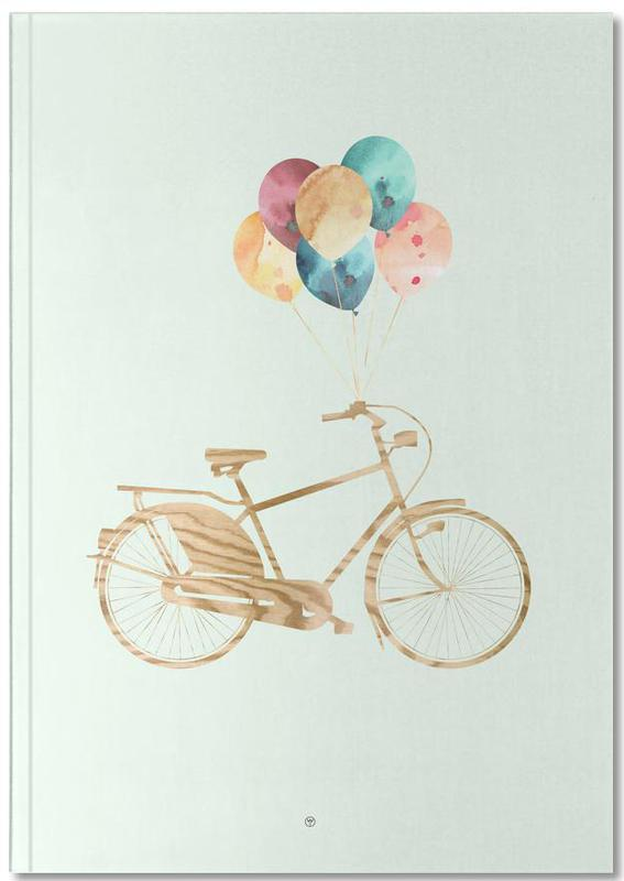 Bike & Balloons Notebook