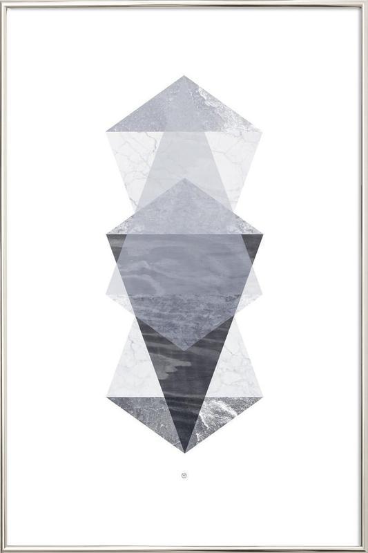 Translucent no. 05 poster in aluminium lijst