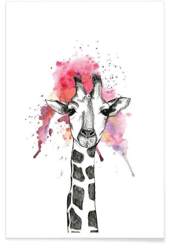 Girafes, Giraffe affiche