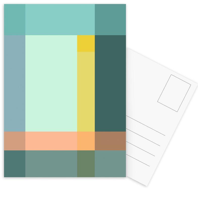 Grid Postcard Set