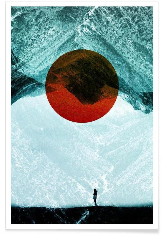 Abstract Landscapes, Found in isolation Poster