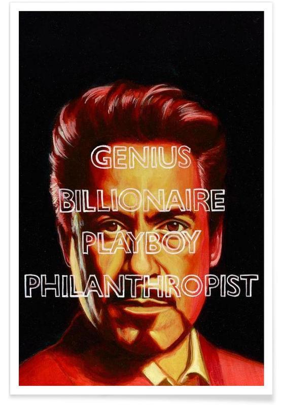 Iron Man, Tony poster