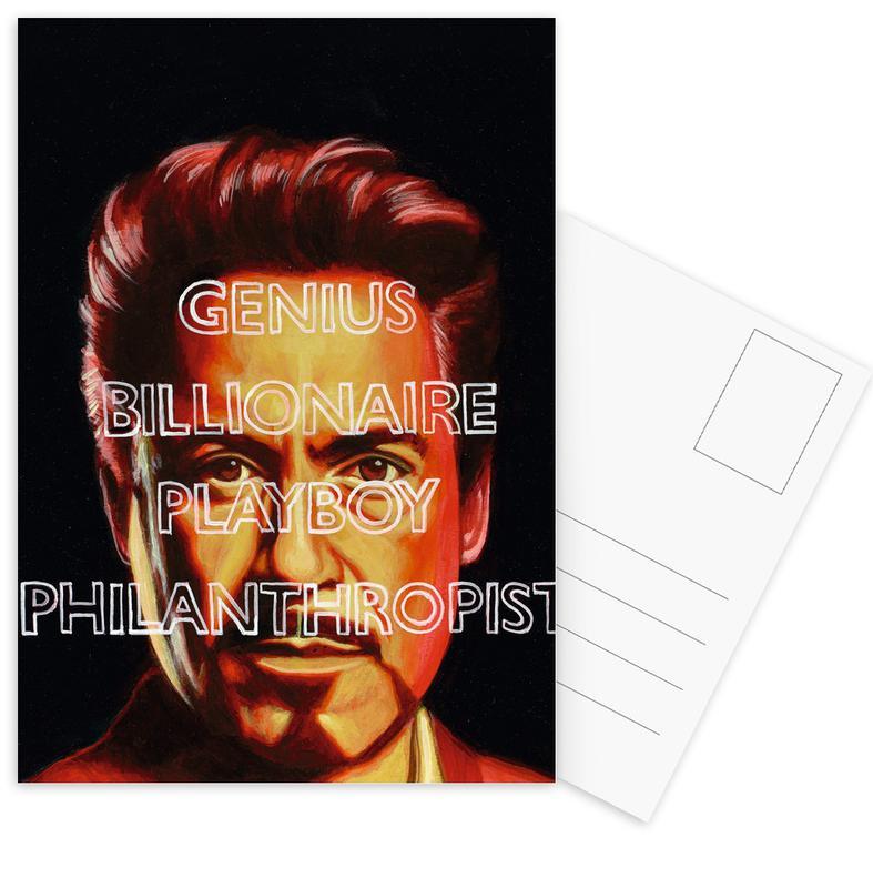 Iron Man, Tony Postcard Set