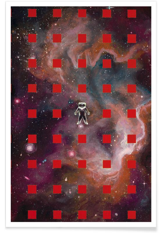 Astronautes, Lost In Red affiche