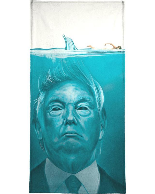 Humour, Films, Personnages politiques, Trump Flat Swimmer serviette de bain