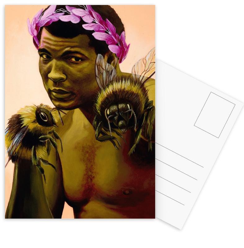 Boxing, Sting Like a Bee Postcard Set