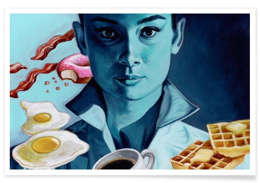 Audrey Hepburn, Filmer, Breakfast with Tiffany Poster