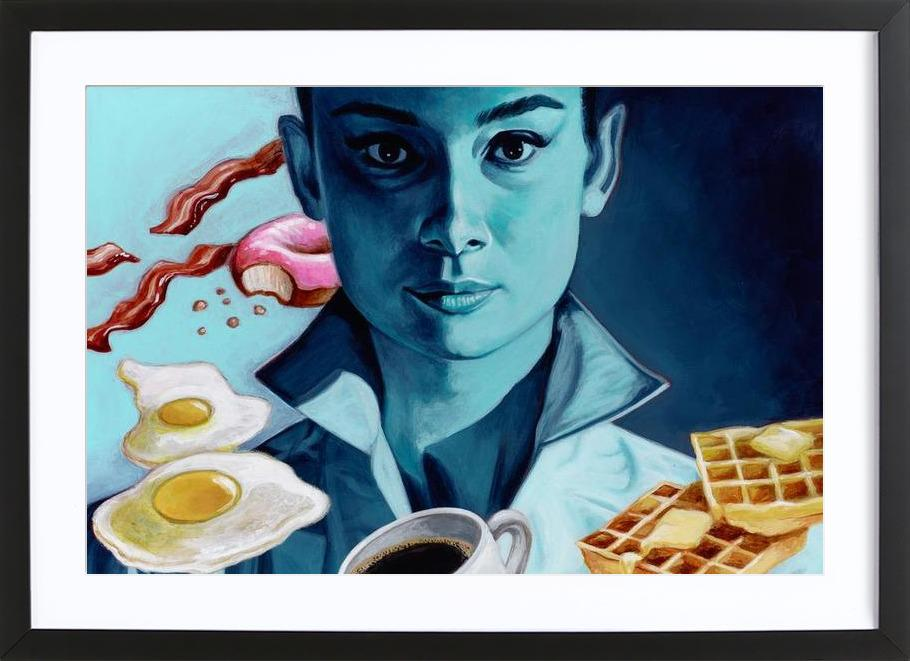 Breakfast with Tiffany Framed Print