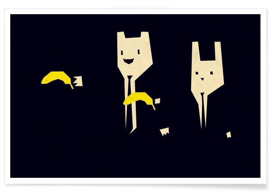 Funny, Pulp Banana Poster