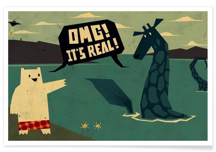 Yeti meets Nessie affiche