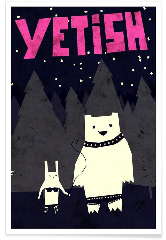 Humour, Yetish affiche