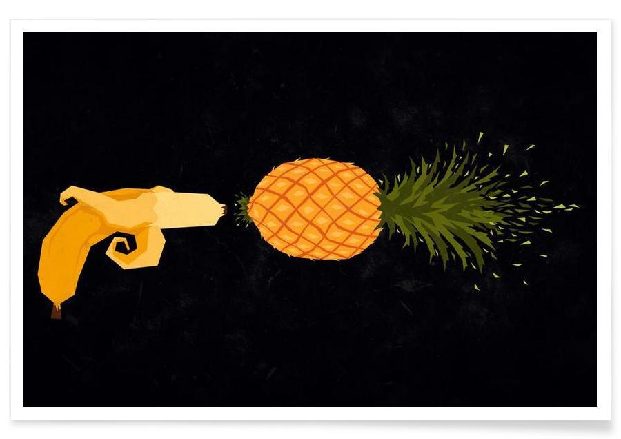 Who shot the pineapple -Poster