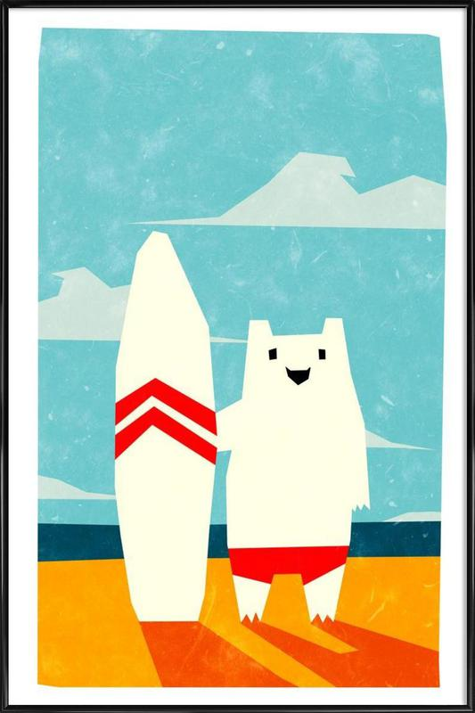 Surf Framed Poster